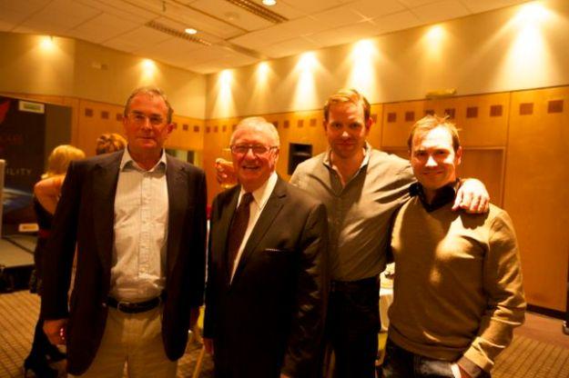 Dennis Taylor provided fantastic entertainment at evening dinner.